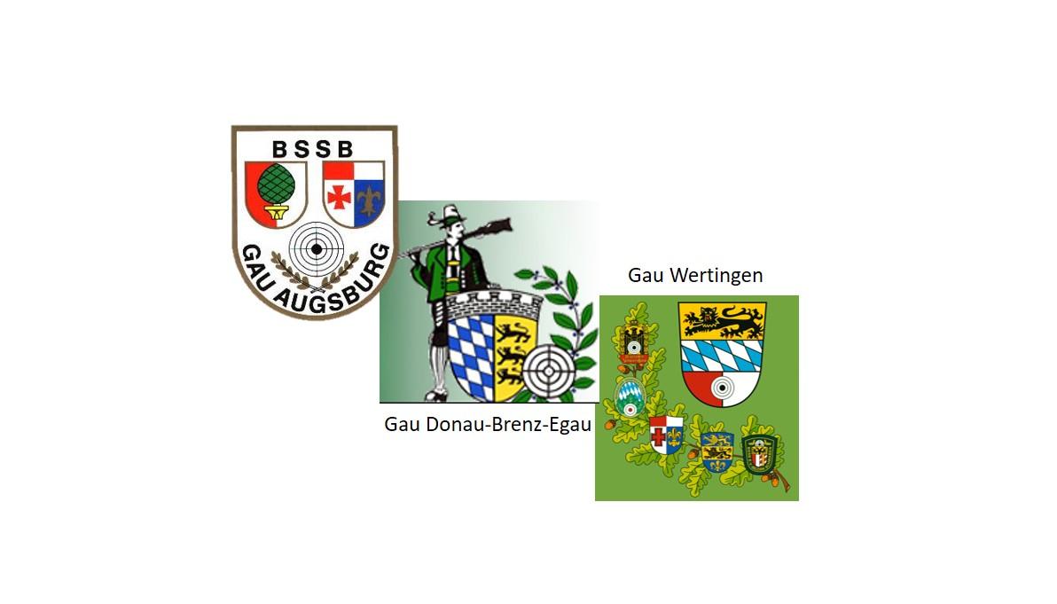 Ergebnisse Gau Vergleichsschießen der Gaue Augsburg, Donau-Brenz-Egau und Wertingen