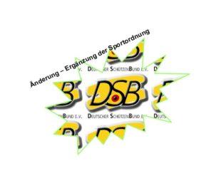 Sportordnung des DSB